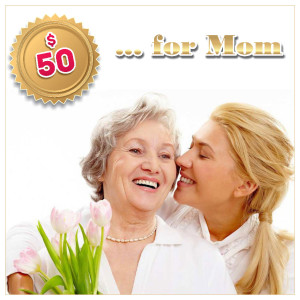 Gift Certificat for Mom $50