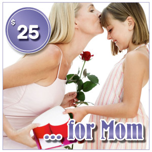 Gift certificat for mom 25