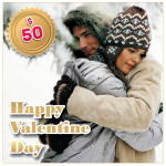 Gift certificat for Valentine Day $50